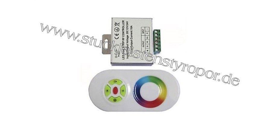 LED RGB Controller mit Touch Fernbedienung