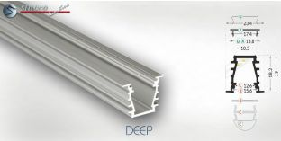 Aluminiumleiste DEEP