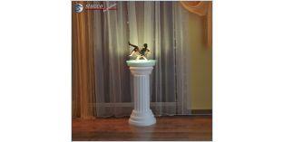 Dekosäule Hartschaum ODK 310/660 mit Beleuchtung