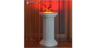 Dekosäule Hartschaum ODM 435/758 mit Beleuchtung