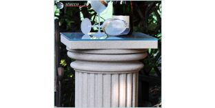 Dekosäulen Hartschaum ODKK-2 360/768 mit Quarzsand-Kunstharzbeschichtung