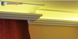 Stuckleisten für indirekte Beleuchtung Vorhangleiste Köln 210