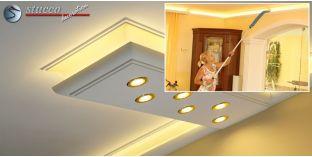 LED Leiste für Kombi Beleuchtung München 270+2x205 PLEXI PLUS