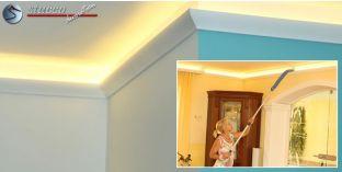 LED Zierleiste für indirekte Wandbeleuchtung Paderborn 211 PLEXI PLUS