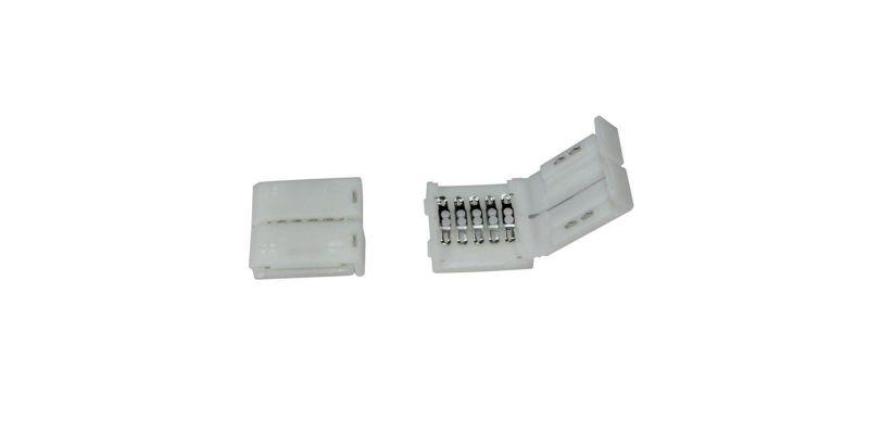 verbinder connector f r rgbw rgb w 10mm led streifen 1. Black Bedroom Furniture Sets. Home Design Ideas