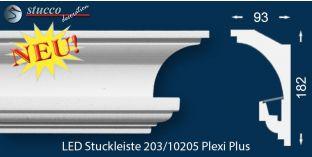 Stuckleisten für indirekte Beleuchtung Hamburg 203 PLEXI PLUS