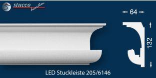 Stuckleisten für indirekte Beleuchtung München 205