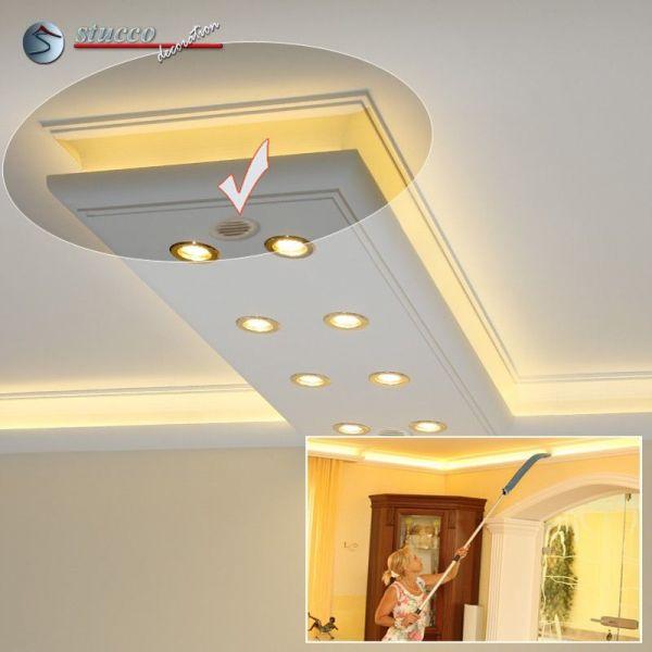 endst ck mit l ftungsgitter f r direkte und indirekte beleuchtung m nchen 400 2x205 plexi plus. Black Bedroom Furniture Sets. Home Design Ideas