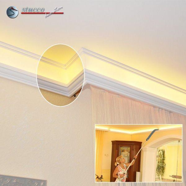stuckleisten f r indirekte beleuchtung hamburg 203. Black Bedroom Furniture Sets. Home Design Ideas