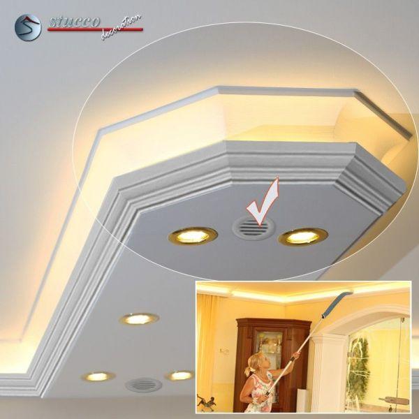 endst ck 2 mit l ftungsgitter f r direkte und indirekte beleuchtung essen 400 2x202 plexi plus. Black Bedroom Furniture Sets. Home Design Ideas