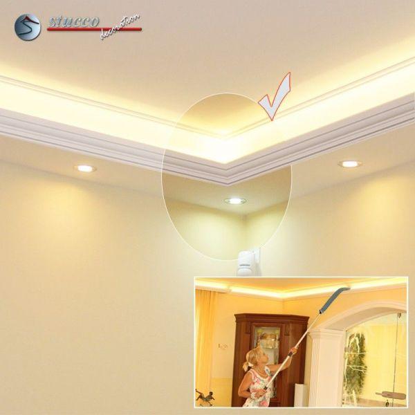 inneres eckelement f r direkte und indirekte beleuchtung essen 270 202 plexi plus. Black Bedroom Furniture Sets. Home Design Ideas