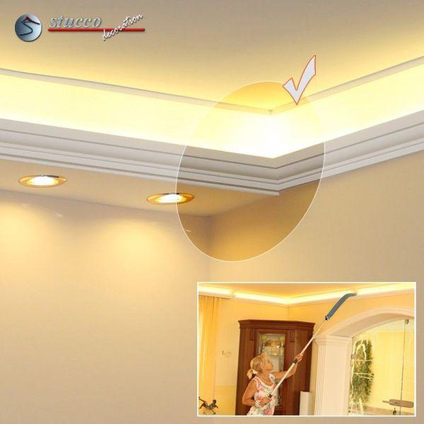 verbindungsst ck rechts f r direkte und indirekte beleuchtung essen 270 202 plexi plus. Black Bedroom Furniture Sets. Home Design Ideas