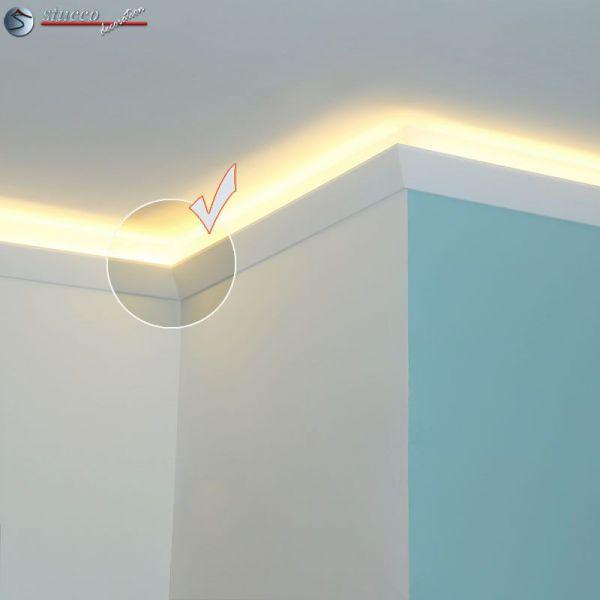 led stuckleiste f r indirekte beleuchtung fulda 212. Black Bedroom Furniture Sets. Home Design Ideas