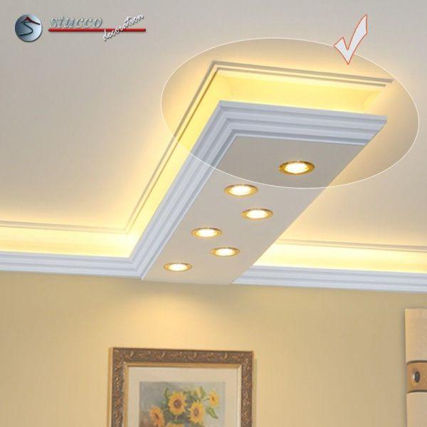 Indirekte beleuchtung led dimmbar top indirekte led - Wandlampe indirekte beleuchtung ...