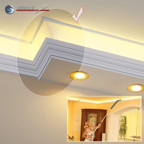 endst ck links f r direkte und indirekte beleuchtung essen 190 202 plexi plus. Black Bedroom Furniture Sets. Home Design Ideas