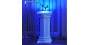 Dekosäulen Hartschaum ODK-2 360/768 mit Beleuchtung