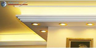 Stuckleiste für kombinierte Beleuchtung Dortmund 270+209