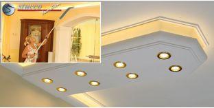 LED Leiste für Kombi Beleuchtung München 400+2x205 PLEXI PLUS
