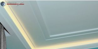 Styroporleiste für die Decke Zürich 401