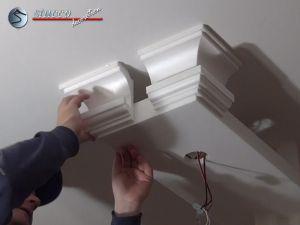 Stuckprofile für LED Einbaustrahler - Stuckleisten aus Styropor