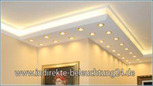 Warmweiße LED Spots und LED Strips