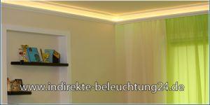 Indirekte Beleuchtung LED in Stuckleisten