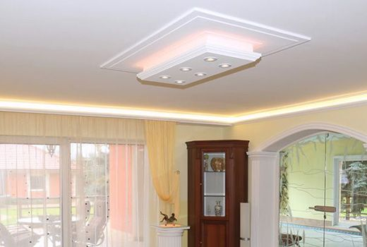 led stuckleiste f r indirekte beleuchtung berlin 201 plexi. Black Bedroom Furniture Sets. Home Design Ideas