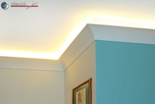 led stuckleiste wandleiste f r indirekte beleuchtung s lden 213. Black Bedroom Furniture Sets. Home Design Ideas