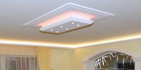 Stuck Beleuchtung mit LED Stuckleiste und LED Beleuchtung