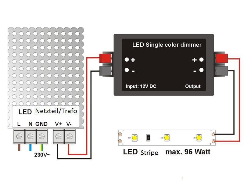 LED Band, 3528 SMD 120 LED Strip kaltweiß